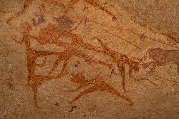 Sahara-peinture-rupestre-Tadrart-Desert-zeriba-voyage