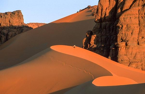 Peinture-rupestre-Tadrart-Sahara-desert